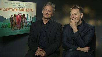 Programme image from Radio 1's Screen Time: Viggo Mortensen & Matt Ross on Captain Fantastic