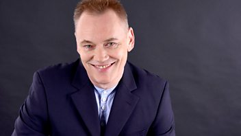 Programme image from A Good Read: Terry Christian and Dr Kevin Fong