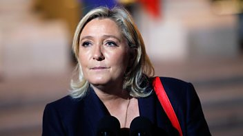 Programme image from Woman's Hour: Marine le Pen and the French presidential race, Georgette Heyer, No fault divorce