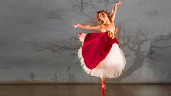 Programme image from Front Row: Matthew Bourne on The Red Shoes, Satirising Trump, Marius de Vries