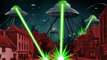 Programme image from Following the Martian Invasion: The Destruction of Shepperton and the Exodus from London