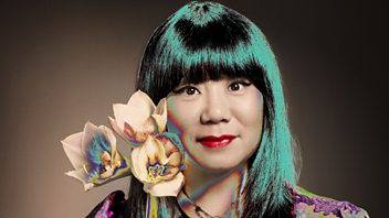 Programme image from Woman's Hour: Queen of grunge fashion Anna Sui; Caroline Lucas, co-leader of the Green Party