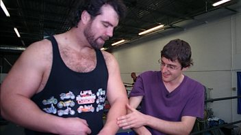 Programme image from Louis Theroux's Weird Weekends: Wrestling