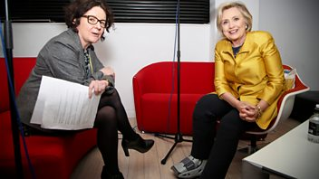 Programme image from Woman's Hour: Hillary Clinton, Dany Cotton, Ibeyi