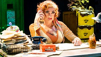 Programme image from Woman's Hour: Craig Revel Horwood as Miss Hannigan in the Musical Annie