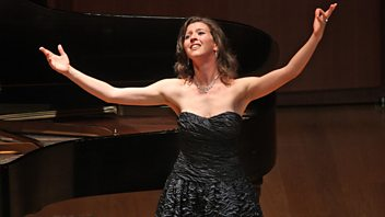Programme image from Front Row: Lisette Oropesa, Richard Flanagan, Kate MccGwire