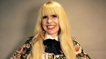 Programme image from Woman's Hour: Singer Paloma Faith, Poet Paula Meehan, Talking to children about consent