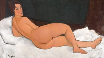 Programme image from Front Row: Modigliani, Costa Book Awards shortlists, John Lithgow
