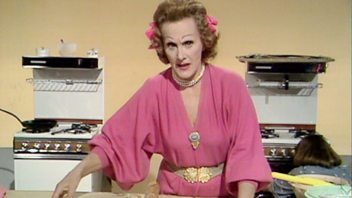 Programme image from Fanny Cradock Cooks for Christmas: Royal Mincemeat