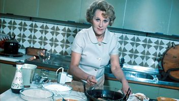 Programme image from Fanny Cradock Invites You To ...: A Cheese and Wine Party
