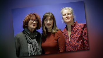 Programme image from Woman's Hour: Good menopause experiences, Clare's Law, Big feet