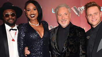 Programme image from Front Row: Tom Jones and Jennifer Hudson on The Voice, Art galleries on screen