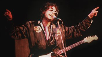 Programme image from Arena: Bob Dylan – Trouble No More