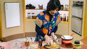 Programme image from Delia Smith's Cookery Course: Puddings