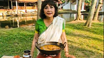 Programme image from Madhur Jaffrey's Flavours of India: Kerala