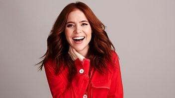 """Programme image from Steve Wright in the Afternoon: Angela Scanlon has the exclusive extended play of """"Learn To Fly"""" by Surfaces and Elton John"""