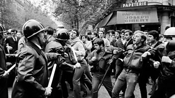 Programme image from The History Hour: May 1968 Paris Riots