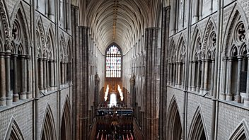 Programme image from Front Row: Westminster Abbey, The culture of the countryside, Gillian Allnutt
