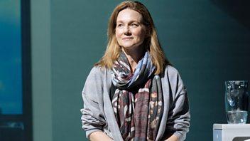 Programme image from Woman's Hour: Laura Linney, Spain's female majority cabinet, Science of fatherhood, Breastfeeding, Hannah Cockroft