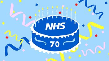 Programme image from Woman's Hour: The NHS at 70, Why we need more female songwriters, Poet Deborah Alma