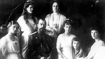 Programme image from The History Hour: The Killing of the Russian Tsar