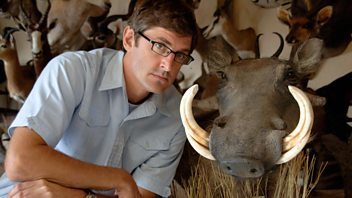 Programme image from Louis Theroux: African Hunting Holiday