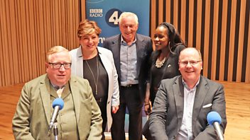 Programme image from Any Questions?: Simon Heffer, George Freeman MP, Shakira Martin, Emily Thornberry MP