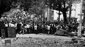 Programme image from The History Hour: The Street Battle That Rocked Brazil