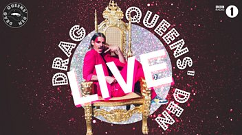 Programme image from Radio 1's Drag Queens' Den: Live and Loose at the Underbelly!