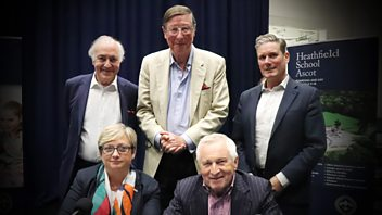 Programme image from Any Questions?: Joanna Cherry MP, Max Hastings, Lord Howard, Keir Starmer MP
