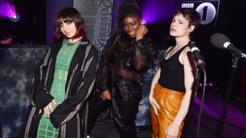 Programme image from Radio 1's Live Lounge: Charli XCX & Christine and the Queens