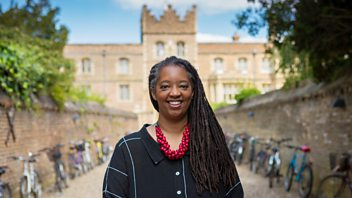 Programme image from Woman's Hour: Sonita Alleyne, US Abortion, Women and Architecture