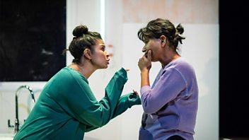Programme image from Woman's Hour: Clean Break, PTSD Partners, Sizeism