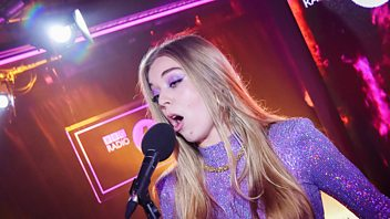 Programme image from Radio 1's Live Lounge: Becky Hill