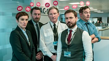 Programme image from Sport Relief: Line of Duty