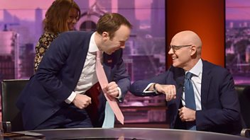 Programme image from The Andrew Marr Show: 15/03/2020