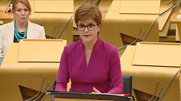 Programme image from Scottish First Minister's Questions: 10/06/2020