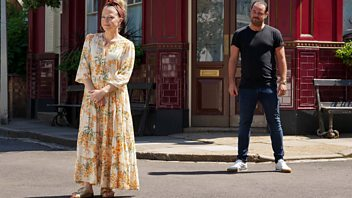 Programme image from EastEnders: Secrets from the Square: Mick and Linda