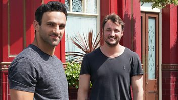 Programme image from EastEnders: Secrets from the Square: Martin and Kush