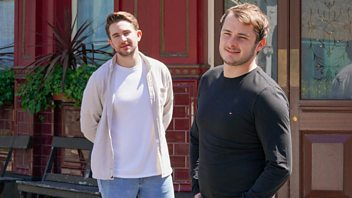 Programme image from EastEnders: Secrets from the Square: Ben and Callum