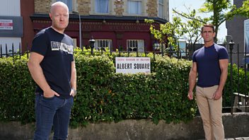 Programme image from EastEnders: Secrets from the Square: Max and Jack