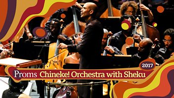 Programme image from BBC Proms: Chineke! Orchestra with Sheku Kanneh-Mason and Jeanine De Bique