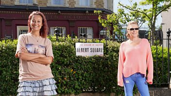Programme image from EastEnders: Secrets from the Square: Shirley and Tina