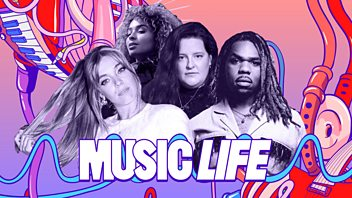 Programme image from Music Life: The science behind the perfect hit with Becky Hill, MNEK, Ella Eyre and Frances