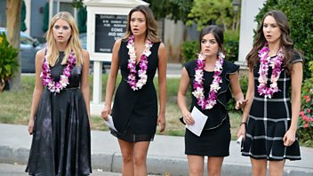 Programme image from Pretty Little Liars: Through a Glass, Darkly