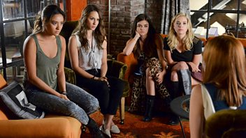 Programme image from Pretty Little Liars: Oh, What hard Luck Stories They All Hand Me