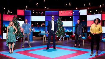 Programme image from Richard Osman's House of Games Night: Christmas Special