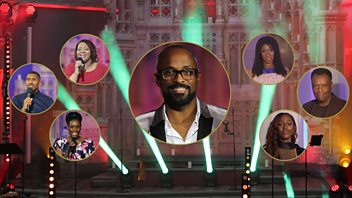 Programme image from Songs of Praise: Gospel Singer of the Year - Final
