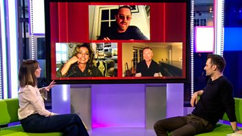 Programme image from The One Show: 19/02/2021