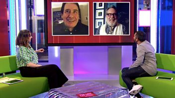 Programme image from The One Show: 23/02/2021